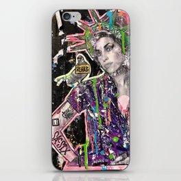 Rehab Amy Graffiti in New York City iPhone Skin