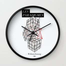 Cube Wall Clock