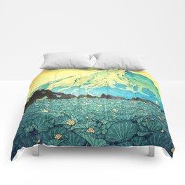 Waddling through Kennijo Lake Comforters
