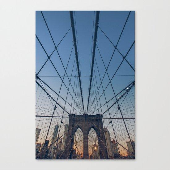 Brooklyn Mornings Canvas Print