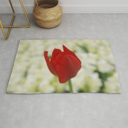 Red Tulip Rug