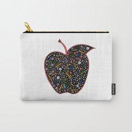 Teacher's Apple colour Carry-All Pouch