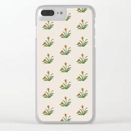 Indigenous Flora Clear iPhone Case