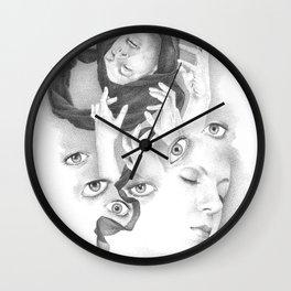 Popshot Magazine Issue 21 Illustration Wall Clock