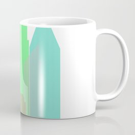 City printing design #society6 Coffee Mug