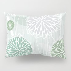 Abstract Floral by Friztin Pillow Sham