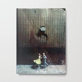 House Disaster Art -  Nailed It Metal Print