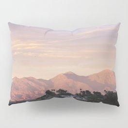 Sunset over Saddleback Mountain Pillow Sham