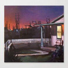 Pink House VACANCY zine Canvas Print