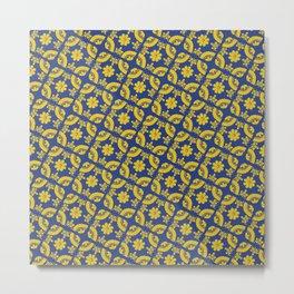 Talavera Tiles Metal Print