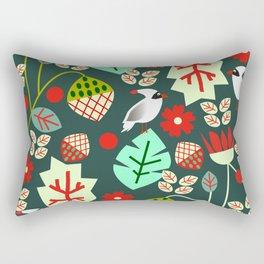 Cardinal garden Rectangular Pillow
