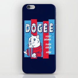 Dogee Such Cold  iPhone Skin
