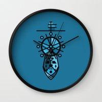 wreck it ralph Wall Clocks featuring Wreck by Hinterlund