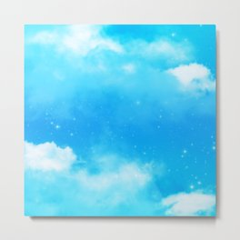 Aesthetic Sky and Clouds 277 Metal Print