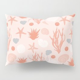 In the Sea - coral Pillow Sham