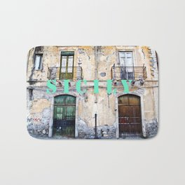 Antique Facade - Sicily Bath Mat