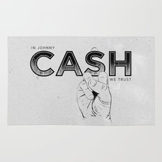 In Johnny Cash We Trust. Rug