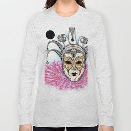 Máscara Veneciana Long Sleeve T-shirt