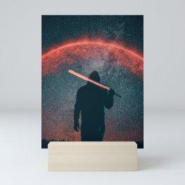 A war between the Stars Mini Art Print
