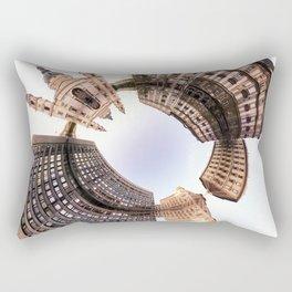 Holey planet with Basilica Rectangular Pillow