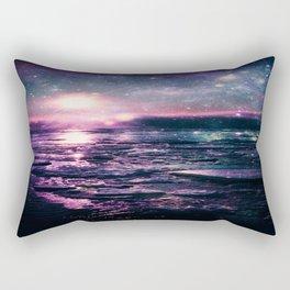 Mystic Waters Mermaid Gradient Rectangular Pillow