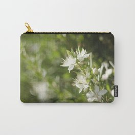 Bright Day, Tiny Flower Carry-All Pouch