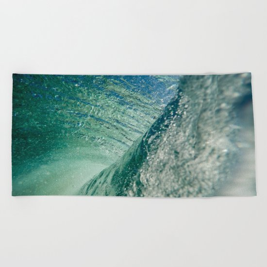 Inner Wave Break Beach Towel