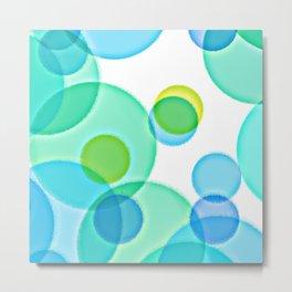 Dimpled Bubbles Metal Print