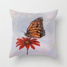 Monarch Majesty Throw Pillow