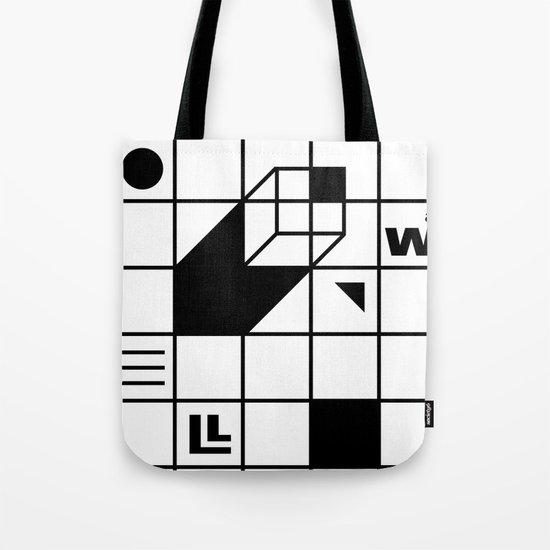 Four Walled World Tote Bag