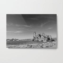 Shiprock Metal Print