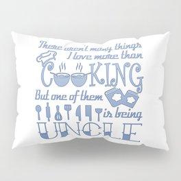 Cooking Uncle Pillow Sham