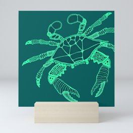 Green Crab Mini Art Print