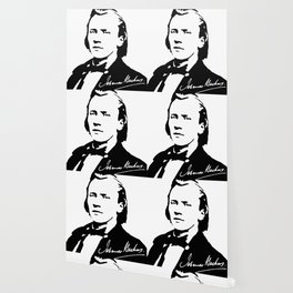 Johannes Brahms (1833 – 1897) in 1853 (2) Wallpaper