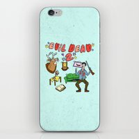 evil dead iPhone & iPod Skins featuring ♥ EVIL DEAD 2 ♥ by Josh LaFayette