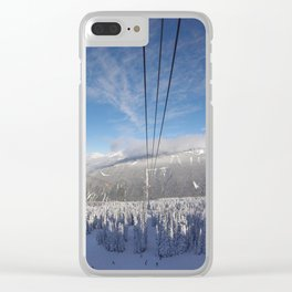 Whistler Canada Clear iPhone Case