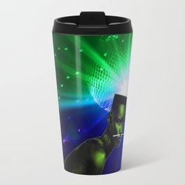 "Grace Jones ""Remixed"" Concept Album Cover Travel Mug"