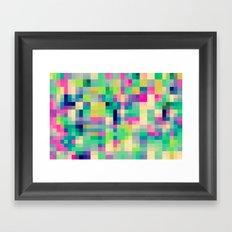 Pixeland Framed Art Print