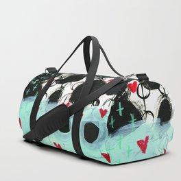 Falling Hearts Duffle Bag