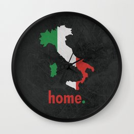 Italy Proud Wall Clock