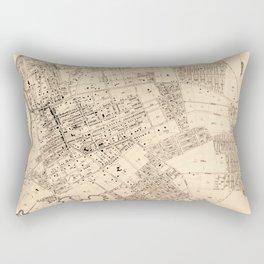 Map Of Flushing 1894b Rectangular Pillow