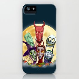 Trick or Treat - Lock, Shock, and Barrel  iPhone Case