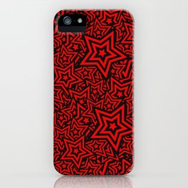 STAR PATTERN iPhone Case