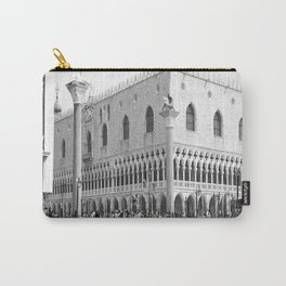 View of Venice St. Mark's Square Carry-All Pouch