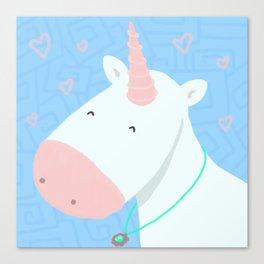 Sweet Unicorn Canvas Print