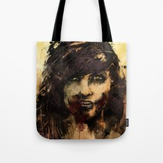 Female Zombie Tote Bag