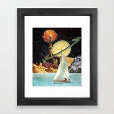 Orinoco Flow Framed Art Print