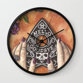 Talk to Me Wall Clock