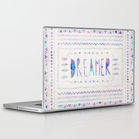 dreamer Laptop & iPad Skins featuring DREAMER by Bianca Green