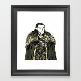 Everyone's favorite bastard Framed Art Print